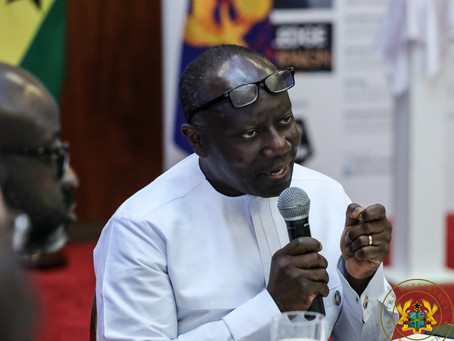"""BUSINESS: """"Place Considerable Value On What We Produce And Trade Internationally"""" - Ken Ofori Atta"""