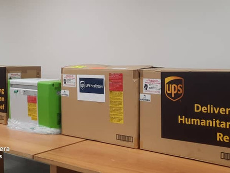 UPS Donates 16 Portable Ultra Cold Chain Freezers To Ministry Of Health To Help Store Covid-19 Drugs