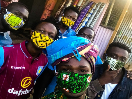 """COVID-19: """"Mandatory Wearing Of Nose Mask Extended By Another 3 Months"""" - Akufo-Addo"""