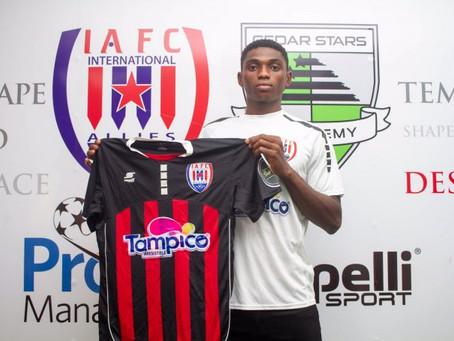 Inter Allies Sign Nigerian Striker, Sunday Henry Kalu