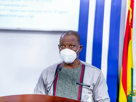 GHS Warns Ghanaians Of High-Risk 3rd Wave Of Covid-19 Infection In The Country