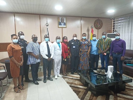 CSOS Engage IGP On Current State Of Security In Ghana