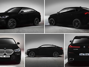 Spotlight On BMW X6 Vantablack – The Darkest Color In The World (VIDEO)