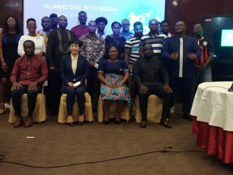 BUSINESS: Huawei Day With Media: Chinese Tech Giant Shares Plans With Ghanaian Journalists