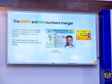 """""""NIA Has Successfully Completed Integration of Its Data With SSNIT"""" - Prof. Ken Attafuah(Video+Pics)"""