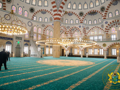National Chief Imam To Lead Eid-Ul Ahda Prayers At Newly Commissioned National Mosque (Picture)