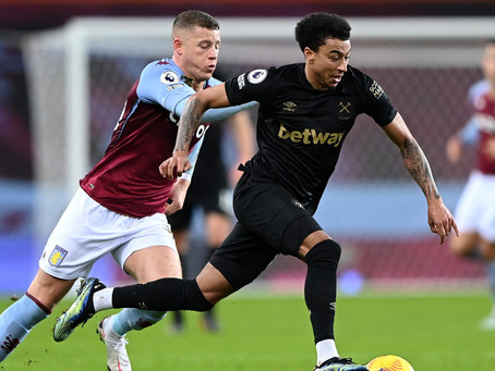 Jesse Lingard Scores Twice In Dream West Ham Debut Against Aston Villa