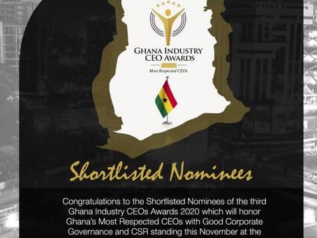 BUSINESS: Ghana Industry CEOs Awards Set For November 27