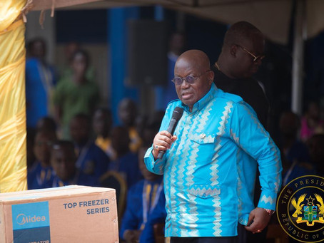 """""""The Pandemic Has Exposed The Need To expedite Moving Ghana To A Situation Beyond Aid"""" - Akufo-Addo"""