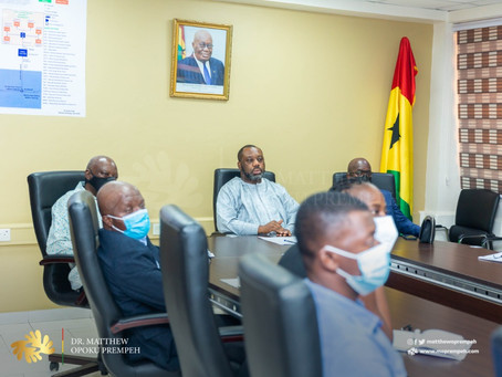 """""""Government's Ultimate Commitment Is To Ghanaians"""" - NAPO (Pictures)"""