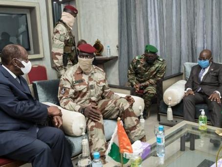 "GUINEA BROUHAHA: ""We Will Not Release Conde"" – Doumbouya Tells Akufo-Addo, Ouattara"