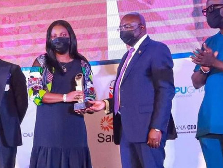 CEO Of Vodafone wins Women Leadership Excellence Award