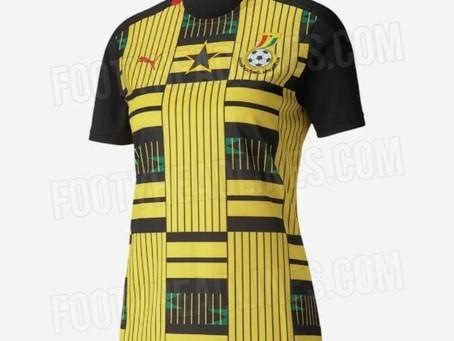 SPORTS: Ghanaians React To Leaked Black Stars' 2020/21 Away Kits On Social Media (Pics+Screenshots)