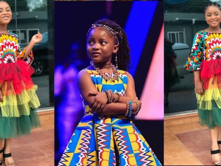 Ghanaians Blast 8-Year-Old Nakeeyat's Mother For Bleaching The Young Girl (Pics/Screenshots)