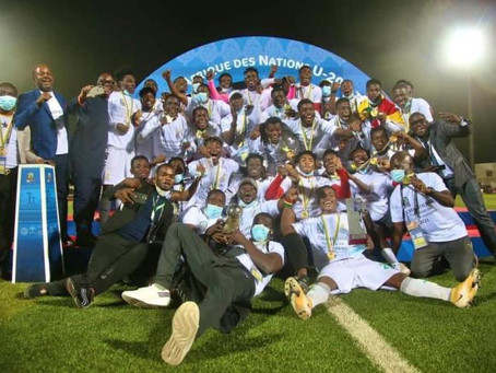 Ghana Wins CAF U-20 Nations Cup (Pictures)