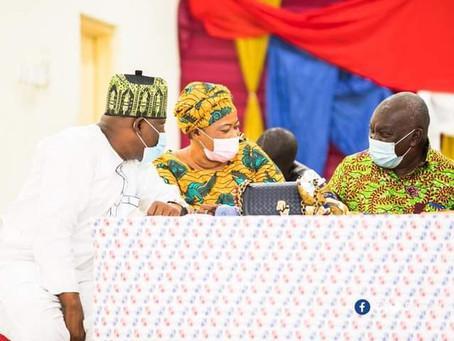 """President Akufo-Addo Will Address Your Developmental Challenges"" - Kate Gyamfua Assures"