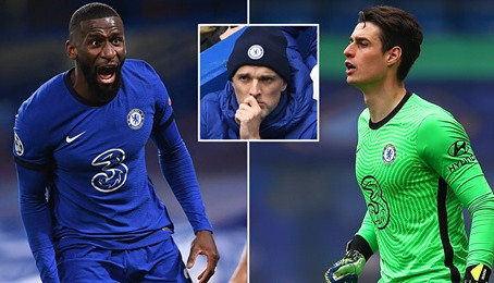 Rudiger Dismissed From Easter Sunday Training By Coach Tuchel After A Bust-Up With Kepa Arrizabalaga