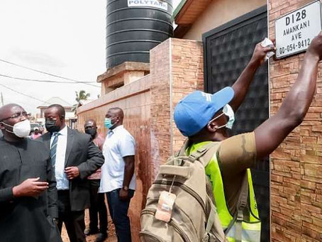 """7.5 Million Properties Identified For Unique Address System"" — Bawumia"