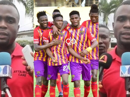 Son Of Late President Mills Donates GHc20,000 Hearts of Oak (Pics)