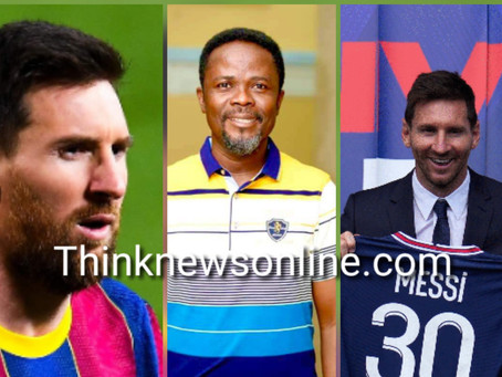 """Messi Had No Plans Of Leaving Barcelona"" – Dan Kwaku Yeboah (VIDEO+PIC)"