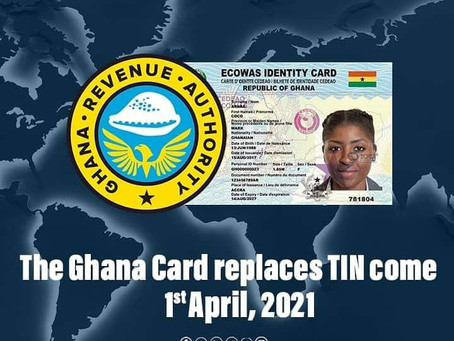 NIA Co-locates With GRA Towards TIN Replacement With Ghana Card Number