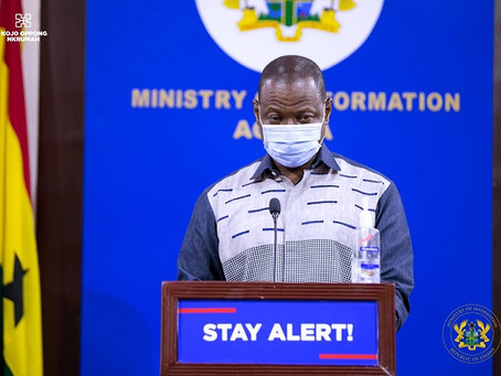 """LIVE: """"Vaccination Of The Second Dose Will Start Tomorrow"""" - GHS (Video)"""