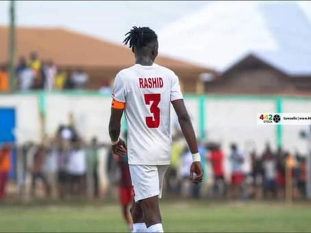 Rashid Mohammed's Move To Hearts of Oak Imminent