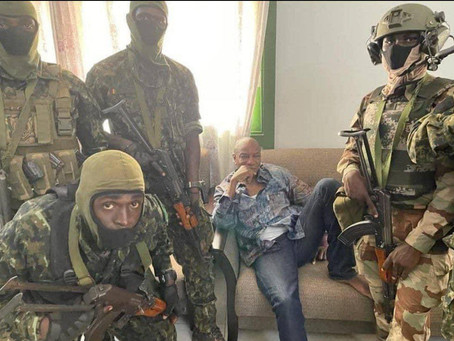 GUINEA COUP ATTEMPT: Soldiers Claim To Seize Power From Alpha Condé (Pics)