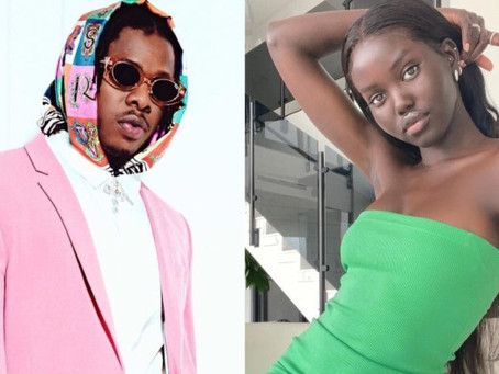 Runtown's Relationship With Model Girlfriend, Adut Akech Crashes
