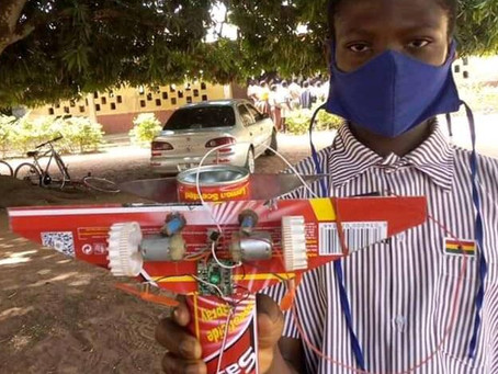 Spotlight On Atta Gad, 13-Year-Old JHS Student Who Created An Airplane With Mosquito Spray