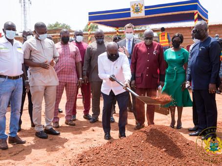 Akufo-Addo Cuts Sod For ¢5M 'Ghana Award House'