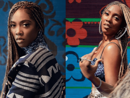 Tiwa Savage Flaunts Her New Tattoo (Picture)