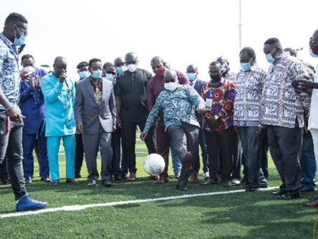 """""""Ensure Compliance With 25% Capacity At Stadia"""" – Akufo-Addo To GFA, NSA"""