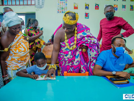 CODA Commissions Library/ICT Centre And Classroom Block In Central Region (Pictures)