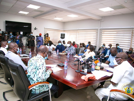 """""""Let's Fix Ghana Together"""" – Ken Ofori-Atta To Ghanaians (Pictures/Video)"""