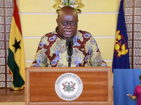 """""""Ghana Health Service Will Begin Deployment Of Vaccines On Tuesday"""" - President Akufo-Addo"""