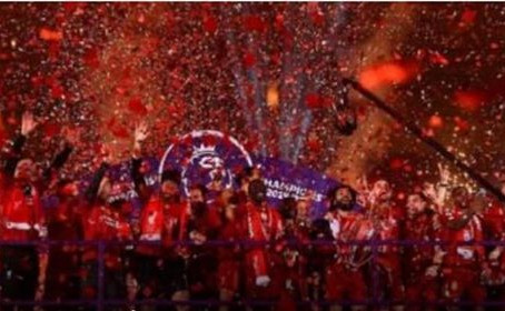 FOOTBALL NEWSPHOTOS: Liverpool Finally Lift Premier League Trophy After 30-Years (Pictures)