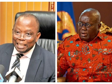 """Domelevo Wasn't Forced Out Of Office"" – Akufo-Addo"
