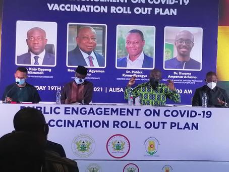 """Operational Cost Of 2 Covid-19 Vaccine Doses Will Cost $2.60 US Dollars Per Person"" - Dr. Achiano"