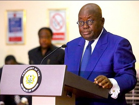 """""""Closure of Ghana's Borders Extended By One Month"""" - Akufo-Addo"""