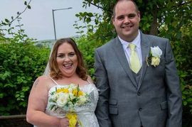Boozy Bride Trips Over Dress And Breaks Foot 'After A Few Drinks' At Her Wedding (Pics)
