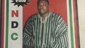OPINION: Mahama Visits Grave Side Of Late Kojo Mahama Adam As Today Marks 19 Years Of His Demise