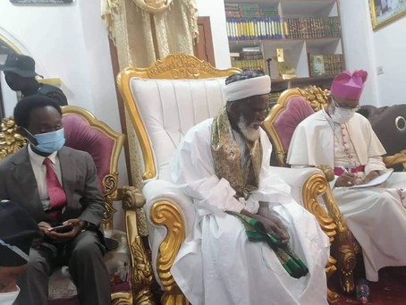 Chief Imam Donates GHS50K Towards The Construction of National Cathedral