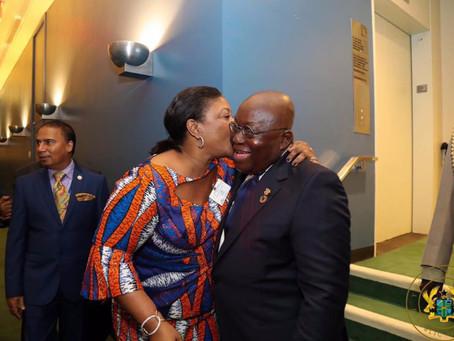 """My Mind Dey For You"" - First Lady Tells President Akufo-Addo"