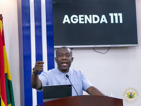 """President Akufo-Addo's Agenda 111 Hospitals To Kick Start On Tuesday"" - Oppong Nkrumah (Video+Pics)"