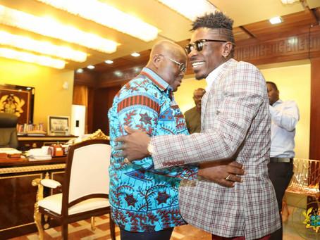 TWITTER: Akufo-Addo Hails King Shattawale