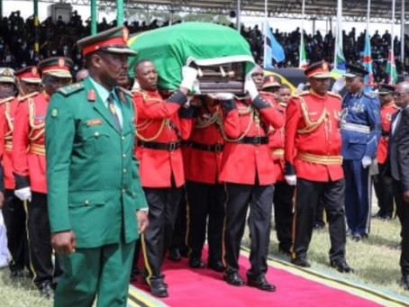 Tanzanian Police Say 45 Person Died In Stampede At Magufuli's Tribute