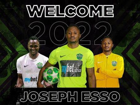 SPORTS: Former Hearts Oak Striker, Joseph Esso Seals New 2-Years Deal With Dreams FC