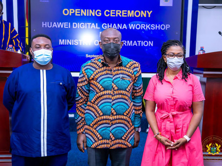 """""""Gov't Is Keen To Digitilising All Sectors Of The Economy"""" - Kojo Oppong Nkrumah (VIDEO/PICS)"""