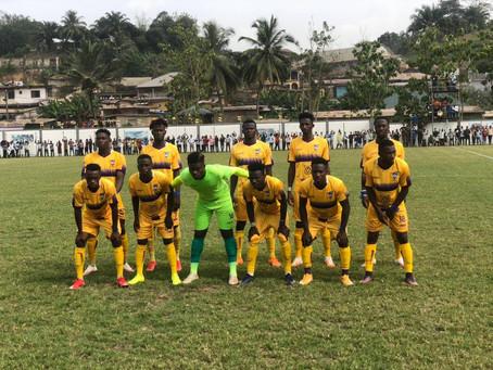 Medeama SC Pip Hearts Of Oak, 1-0 In GPL Week 12 Match